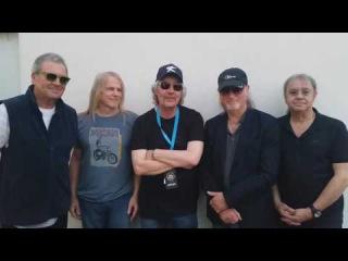 Видео приглашение от Группы Deep Purple на концерт в Ростове