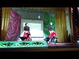 Дарья Андрейченко и Светлана Аймулдинова - Танец фламенко на конкурсе