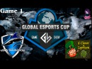 Vega vs 4CL 1 (bo3) (Ru) | Game Show Global Lan Finals (06.12.2015) Dota 2