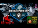Grand Final Team Empire vs 4CL 3 (bo5) (Ru) | Game Show Global (06.12.2015) Dota 2