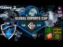 Vega vs 4CL 2 (bo3) (Ru) | Game Show Global Lan Finals (06.12.2015) Dota 2