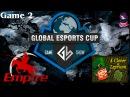 Grand Final Team Empire vs 4CL 2 (bo5) (Ru) | Game Show Global (06.12.2015) Dota 2
