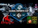 Grand Final Team Empire vs 4CL 4 (bo5) (Ru) | Game Show Global (06.12.2015) Dota 2