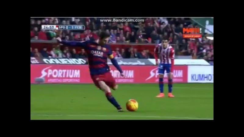 Спортинг 0 1 Барселона 300 ГОЛ МЕССИ В ЛА ЛИГЕ