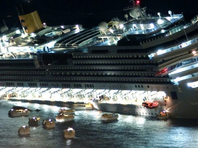 Costa Concordia крушение глазами очевидцев шок