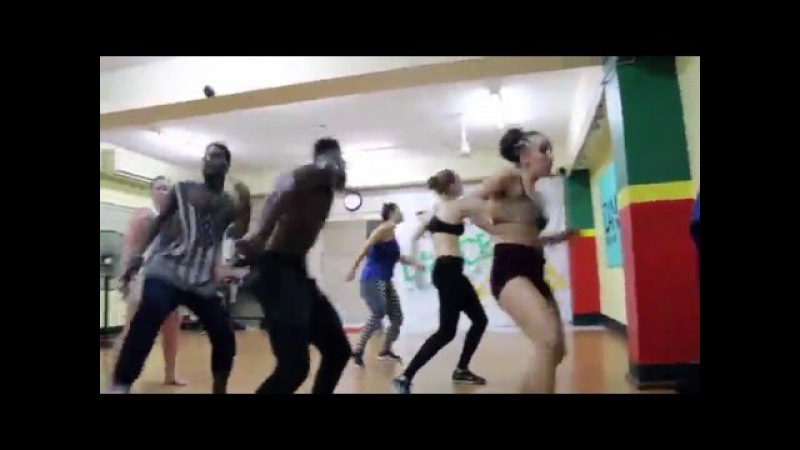 Rifical Team | Dancehall Workshop at DanceJA | Killing Machine Step