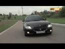 Видео на дороге Maserati Quattroporte S (Мазерати Кватропорте), обзор и отзывы н