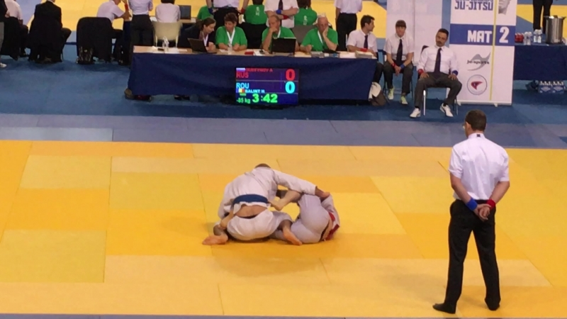 Horatio Balint, brown belt, Romania 18 European Championship 2016