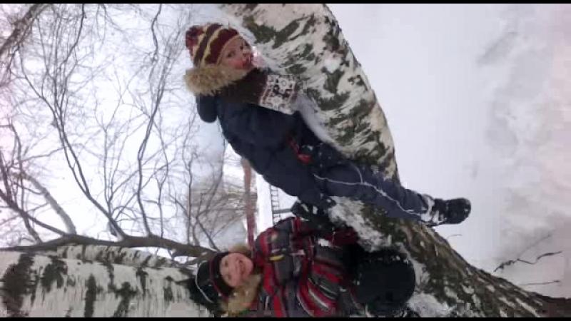Тема мл Падение с дерева в снег