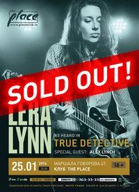 Lera Lynn (USA) ** 25.01.16 ** СПб (The Place)