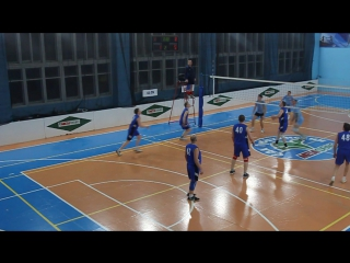 Волейбол. Новогодний кубок 2016. Мужчины. Олимп-1-ПЧ-63.ч.3