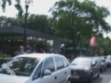 2 kinky girls have some public nude flashing fun on berlin streets
