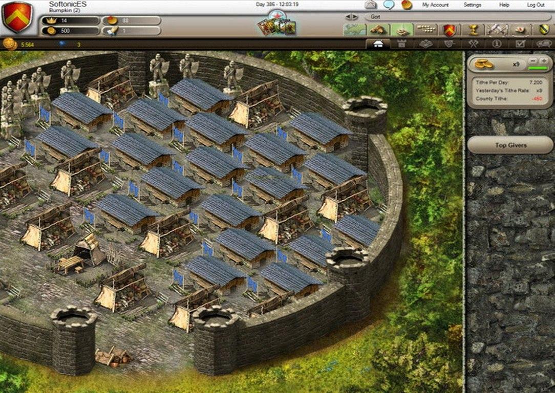 Stronghold Kingdoms [2.0.25.1] (RUS) PC скачать торрент