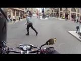 ЗВУК МОТО Пугает пешеходов =)
