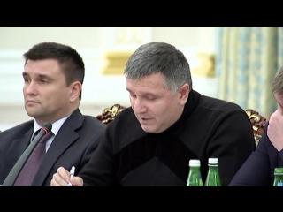 Аваков и Саакашвили повздорили в АП