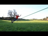 Slackline-Tutorial How to Surf on a Longline (for Beginners!)