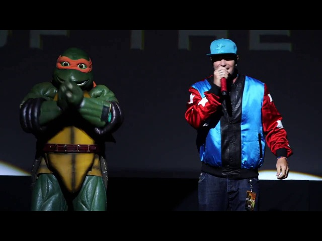 Teenage Mutant Ninja Turtles 2 (2016) - Vanilla Ice Premiere Performance - Paramount Pictures
