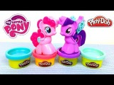 Обзор игрушек: Мой Маленький Пони Пластилин Плей До Пинки Пай Твайлайт Спаркл