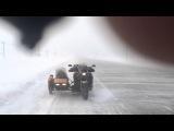 Sidecar Honda X4. Ураган