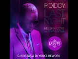 P.Diddy Ft. Keyshia Cole Feat. Syntheticsax - Last Night (DJ Kostas &amp DJ Yonce Rework)