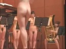 Naked Japanese Orchestra plays The Nutcracker march Pyotr Tchaikovsky