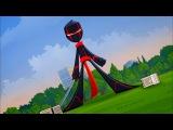 Классный ниндзя - Заколдованный в будущее/ Повелители волн - Сезон 1 Серия 2 | Мультфильм Disney