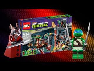 Лего Черепашки Ниндзя - Turtle Lair Attack 79103