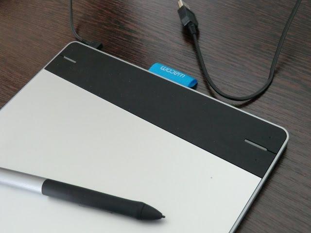 Обзор графического планшета Wacom Intuos Pen Touch S CTH 480S RUPL