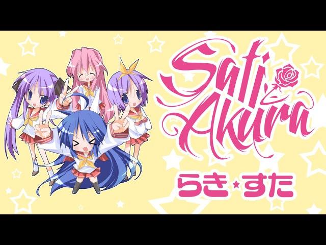 [Lucky☆Star OP RUS] Motteke! Sailor Fuku (Cover by Sati Akura)