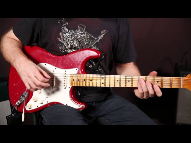 Funk Rhythm Guitar Concepts by Oz Noy - funk groove guitar lesson - Strat