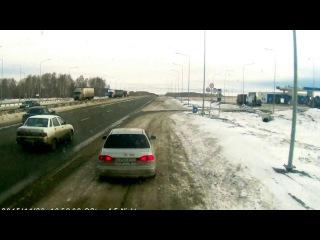 Рэкет под Челябинском на трассе М5