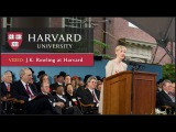 J.K. Rowling Harvard Commencement Speech  Harvard University Commencement 2008