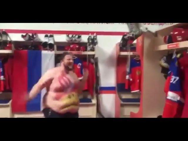 Хоккей Американский фанат нагадил в коньки Дацюка под калинку малинку