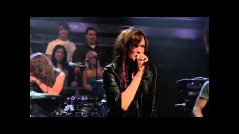 Halestorm Live on Jimmy Fallon 2010 07 21