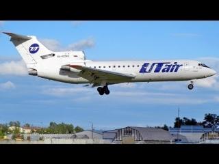 Як-42Д RA-42342 UTair Внуково посадка 2012 (84)