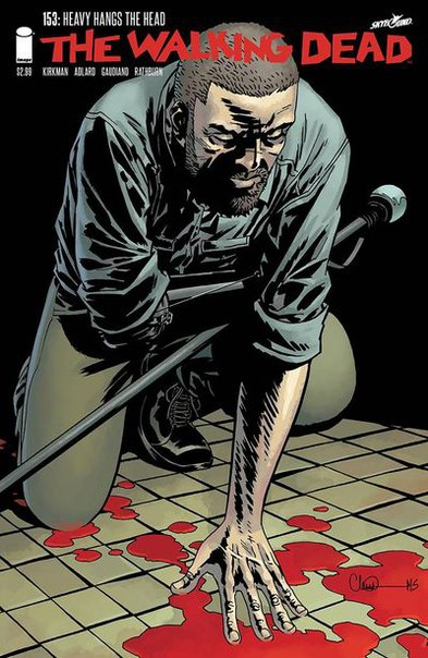#Удивительный_Предзаказ The Walking Dead #153