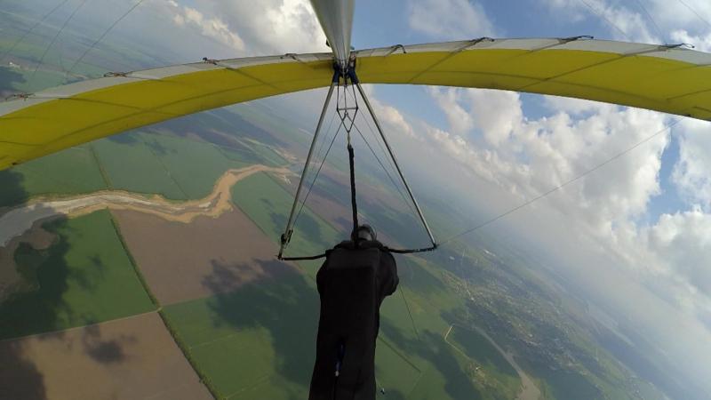 В гостях у ростовчан. Дельтапланеризм. Hanggliding. Gliding. Paragliding.