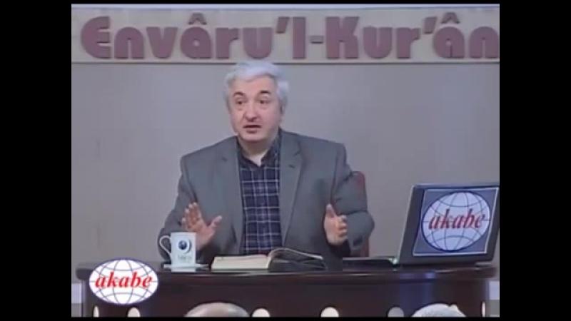 Envâru'l Kur'ân Dersleri 26 - (MDDESSR SURESI -4)