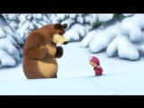 Маша и Медведь - Сборник зимних мультиков (все зимние серии подряд)