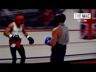 This is The Mac Life Конор МакГрегор спарринг c бывшим чемпионом по боксу WBO и IBF