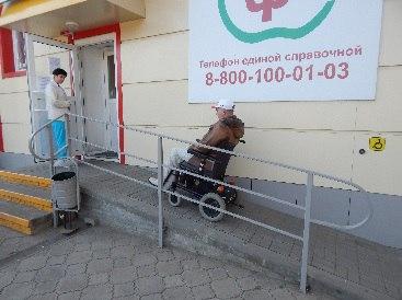 У ряда аптек в Зеленчукском районе отсутствуют на входе пандусы и поручни для инвалидов