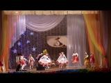 Кояш нурлары танец дружбы Народов Поволжья. Гала-концерт в ДК Саид Галеева