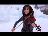 Клип -Линдси Стирлинг \ Lindsey Stirling Crystallize - (Dubstep Violin Original Song) супер музыка ! Дабстеп во льдах