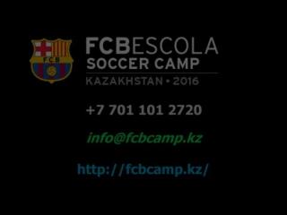 FCBEscola Camp Kazakhstan