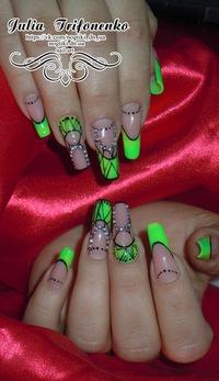 Наращивание ногтей донецк