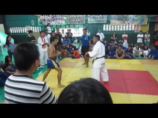 Извечный спор кто лучше. Kyokushin Karate vs Muay Thai