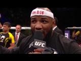 После победы в UFC боец Йоэль Ромеро публично воздал славу Богу!