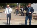Я і Сара Войта Максим та Василь Стахнік на фестивалі Запоріжжя з яйцями