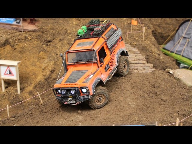 RC Land Rover Scale Crawler Parcours - Erlebniswelt Modellbau Kassel