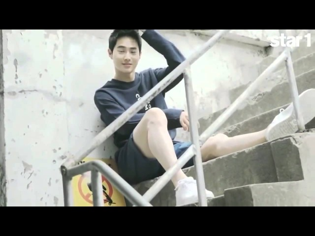 HD 150721 EXO Baekhyun, Suho, Chen STAR1 Magazine BTS Making Film
